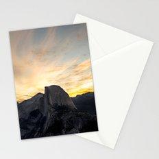 Yosemite National Park - Half Dome at Sunrise Stationery Cards