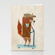 The Eccentric Mr Fox Stationery Cards