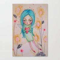 Garden Fairy Canvas Print