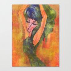 Dancing in Light Canvas Print