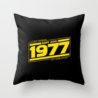 There At The Start Throw Pillow