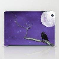 Moonlit Winter Sky iPad Case