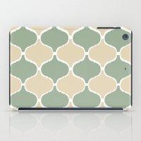 MARRAKECH Sand Green iPad Case