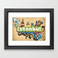 Hilarioustanbul (: Framed Art Print