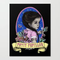 Ma Petite (color) Canvas Print