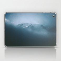 Cloudy Mount Rainier Laptop & iPad Skin