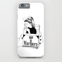 smoke iPhone & iPod Cases featuring Smoke by Henn Kim
