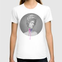 Post-Roman Womens Fitted Tee White SMALL