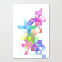 Color Love Canvas Print