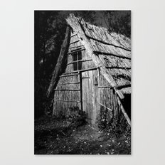 Wood Workers House Canvas Print