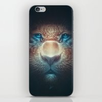 Red Tiger iPhone & iPod Skin