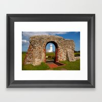 Ruins Of St Edmunds Chap… Framed Art Print