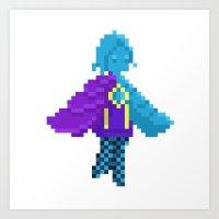 Pixel Fi Art Print