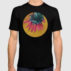 HEAD OVER HEELS SMALL Black Mens Fitted Tee