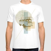Camioneta Mens Fitted Tee White SMALL