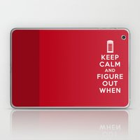 Keep Calm And Figure Out… Laptop & iPad Skin