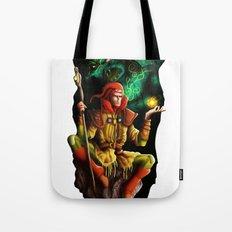 A wizard in the dark Tote Bag