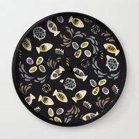 Fish Tales Wall Clock