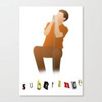 substance Canvas Print