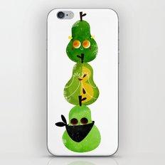 Pear totem iPhone & iPod Skin