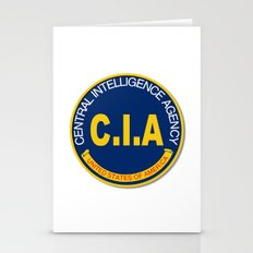 CIA Logo Mockup Stationery Cards