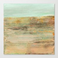 Abstract Horizon Canvas Print