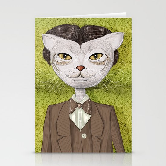 Mr. Jones Stationery Card