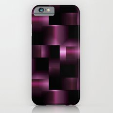 3D purple metalic pattern Slim Case iPhone 6s