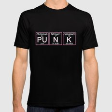 Periodic Punk SMALL Mens Fitted Tee Black