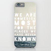 Homesick iPhone 6 Slim Case