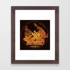 Bromiliad Framed Art Print