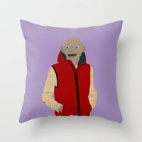 GOLLUM MODERN OUTFIT VERSION - The lord of the rings Throw Pillow