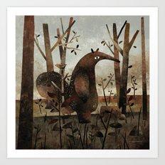 What's For Dinner? (Anteater) Art Print