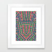 watermelon tribe Framed Art Print