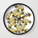 Slug Bug Pile Up Wall Clock