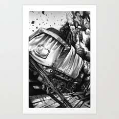 GMC Truck Part 2 Art Print