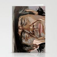 Harmonica Man Stationery Cards