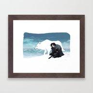 Jon Snow Framed Art Print