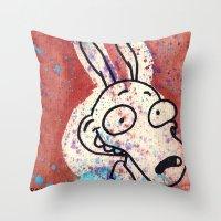 Rocko  Throw Pillow
