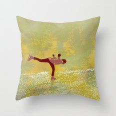 Dreamers fly Throw Pillow