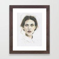 Aymeline Framed Art Print
