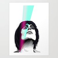 Art Print featuring //ANNIE/TEARS by Jordan McLaughlin