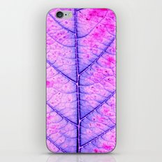 leaf abstract IV iPhone & iPod Skin