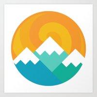 Mountain Alternative Art Print