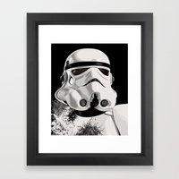Galactic Empire Stormtrooper Framed Art Print