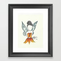 Iridessa Zen Tangle Framed Art Print