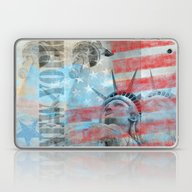 Lady Liberty  Laptop & iPad Skin