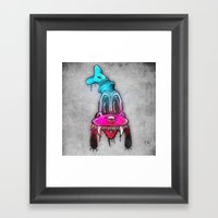 Mad Dog Framed Art Print