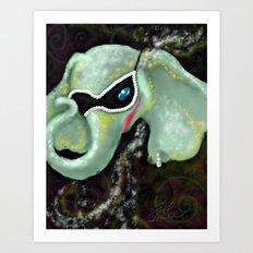 The Mardiphant Art Print