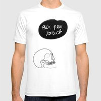 Old Friend Mens Fitted Tee White SMALL